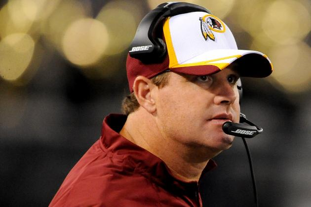 Jay Gruden: 'Probably a 10-Percent Chance' Offensive Starters Play Thursday
