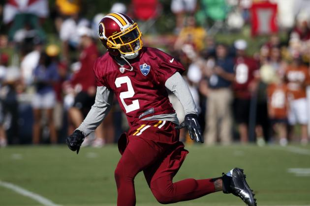 DeAngelo Hall Comes to Defense of Robert Griffin III, Brandon Meriweather