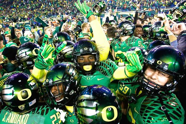 Introducing the 2014 College Football Playoff Champions: The Oregon Ducks