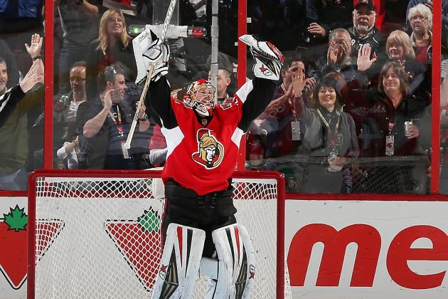 Anderson Think Goalie Competition's Good for Senators