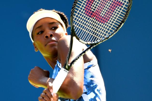 Bee Terrorizes Venus Williams and Kimiko Date-Krumm at US Open