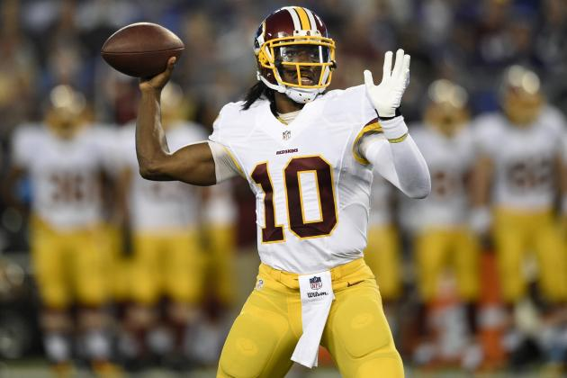 Robert Griffin III Should Remain Unquestioned Starter Despite Recent Struggles