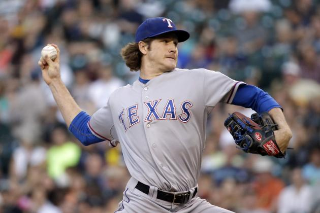Mikolas Strong Start Lifts Rangers over Mariners