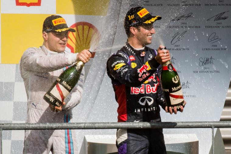 Is Daniel Ricciardo or Valtteri Bottas the Hottest Young Talent in F1 Right Now?