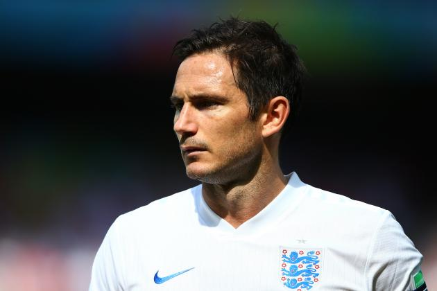 Frank Lampard Announces Retirement from England International Side