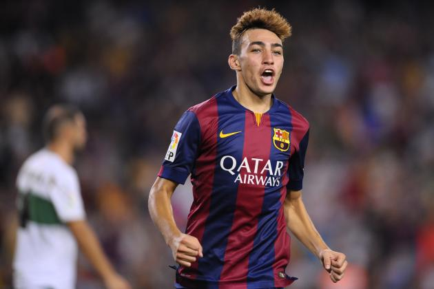 Barcelona Transfer News: Munir El Haddadi's Shocking Release Clause Revealed