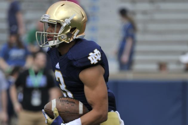 Amir Carlisle Flourishing in New Role for Notre Dame