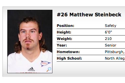 Some Bucknell University Football Players Took the Most Ridiculous Team Pictures