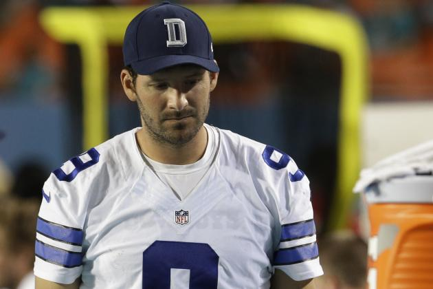 Dallas Cowboys Practice Report Tuesday: QB Tony Romo Returns