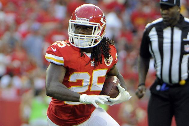 Chiefs Haven't Decided If Jamaal Charles Will Play in Last Preseason Game