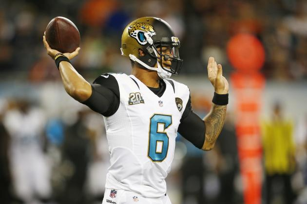 Who's the Jaguars' No. 3 QB? It's a Toss-Up Right Now