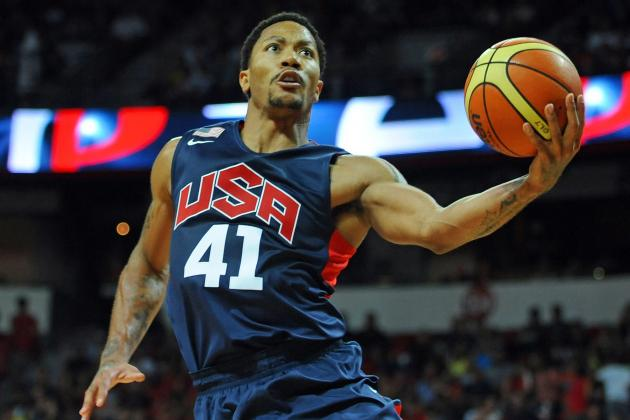 Is Derrick Rose Helping or Hurting Team USA During 2014 FIBA World Cup?