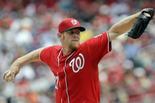 Nationals' Stephen Strasburg Records 1st 200-Strikeout Season of Career