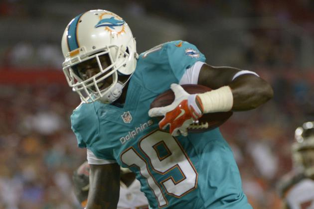 Dolphins Cut Receiver Armon Binns Among Moves to 75
