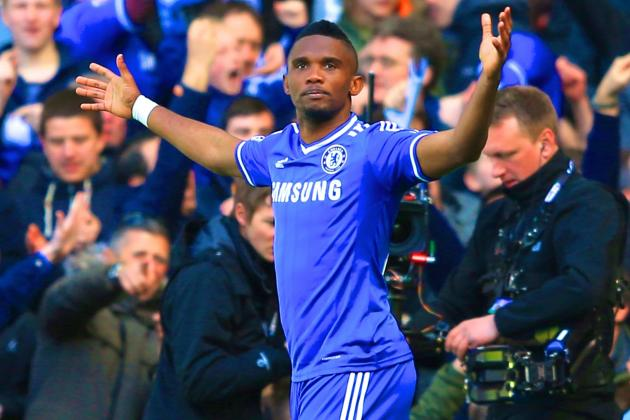 Samuel Eto'o to Everton: Latest Transfer Details, Reaction and More