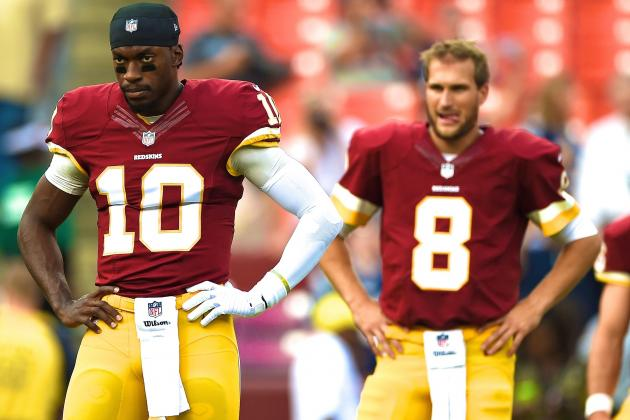 Is Kirk Cousins Really a Threat to Robert Griffin III in Washington?