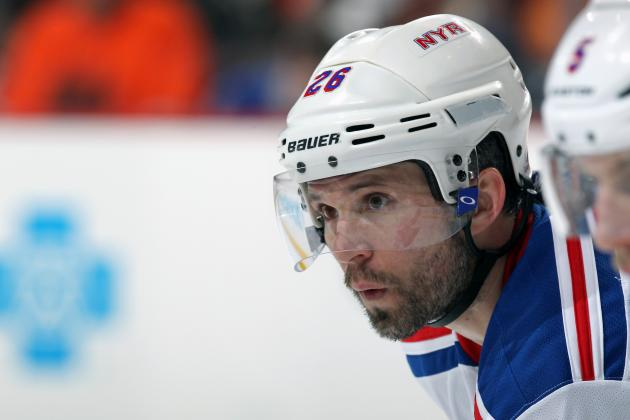 How Should the New York Rangers Best Use Martin St. Louis in 2014-15?