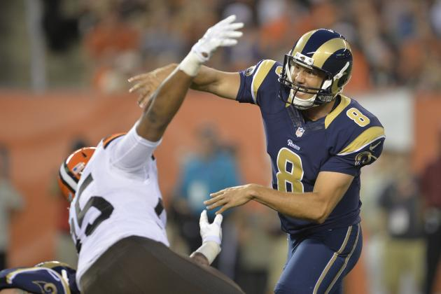 NFL Week 4 Preseason Betting: St. Louis Rams, Buffalo Bills Look to Rebound