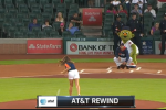 Watch: 50 Cent No Longer Has Worst 1st Pitch