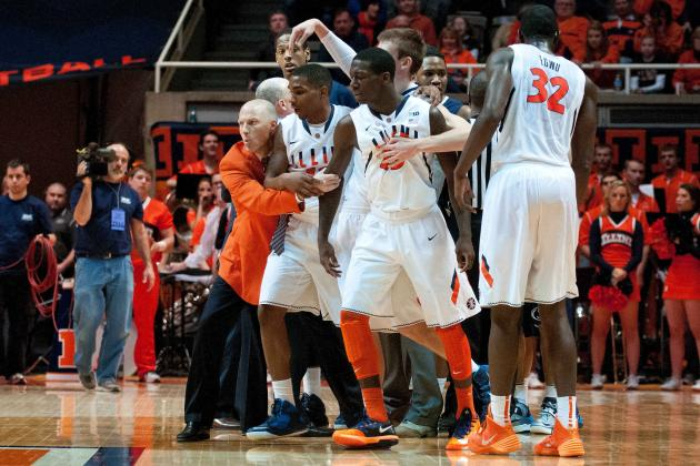Illinois Basketball: Analyzing Recently Released Big Ten Slate