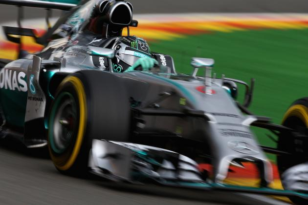 2014 Belgian Grand Prix Fastest Lap Shows New-Generation F1 Cars Getting Quicker