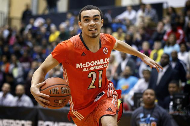 Duke Basketball: Breaking Down Tyus Jones' Chances to Make 2014-15 All-ACC Team