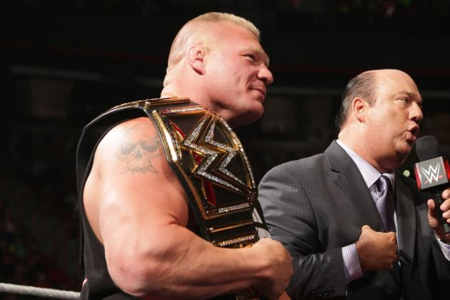 Charting a Path for Brock Lesnar to WrestleMania 31