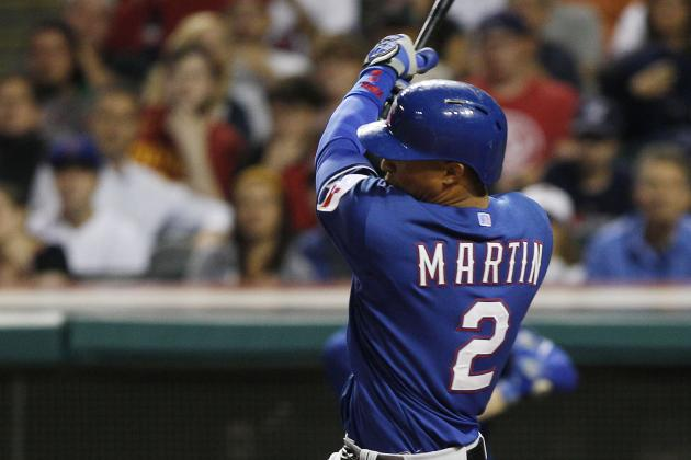 Rangers to Give Leonys Martin Another Shot at Leadoff Role Because Why Not?