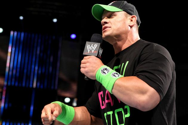WWE Would Benefit from John Cena Taking Time off for Reported Nagging Injuries
