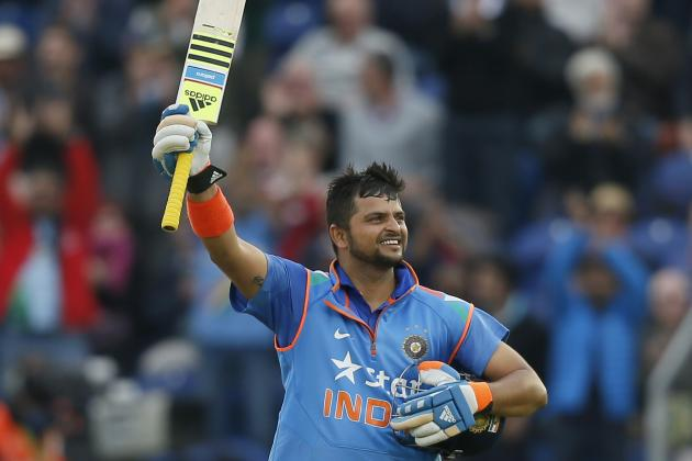 Suresh Raina's 100: Breaking Down India Batsman's 75-Ball Innings vs. England