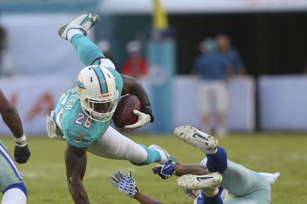 Lamar Miller's Fantasy Value Hinges on the Health of Knowshon Moreno
