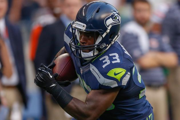 Christine Michael Injury: Updates on Seahawks RB's Hamstring and Return