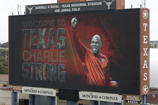 After Whirlwind Offseason, Texas Head Coach Charlie Strong Is Ready for Game Day