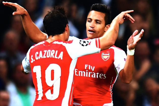 Arsenal vs. Besiktas: Score, Grades and Post-Match Reaction