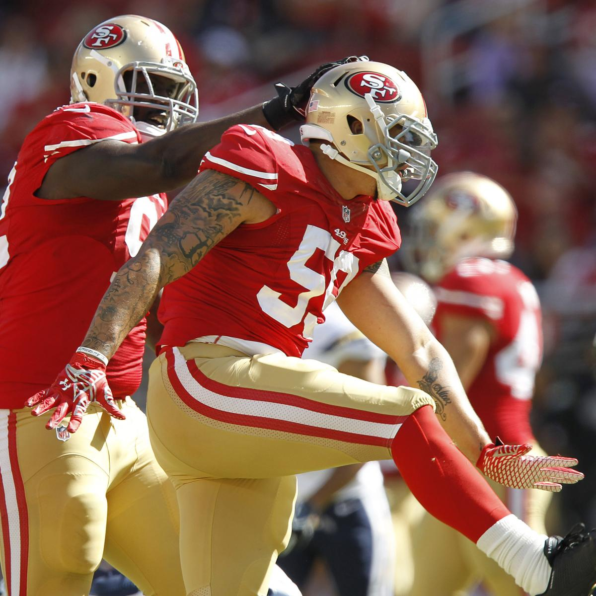 Why Aaron Lynch Is The San Francisco 49ers' Biggest X