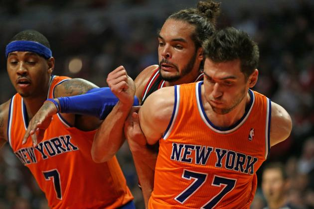Who Should Start at Power Forward for New York Knicks in 2014-15?
