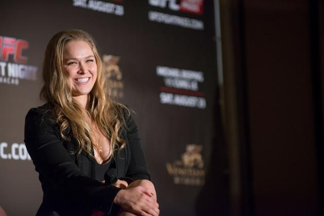 WWE Reportedly Interested in Working with Ronda Rousey?