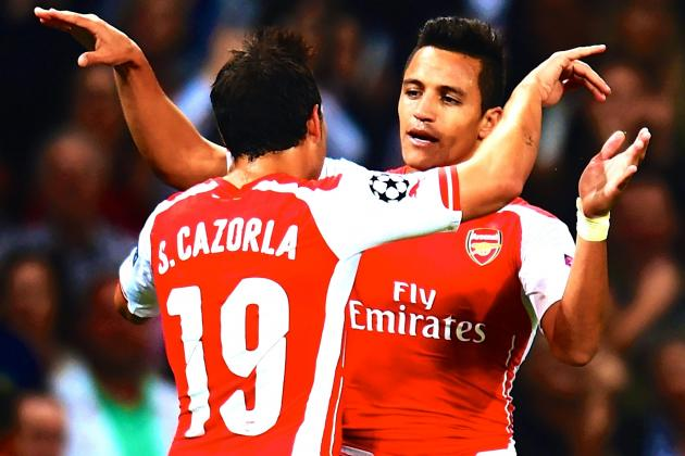 Alexis Sanchez Shines Against Besiktas in Central Striker Audition