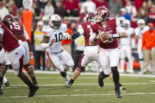 Arkansas Razorbacks vs. Auburn Tigers Betting Odds: Analysis and Prediction