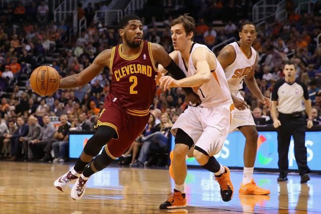 Predicting Kyrie Irving's Production as Cleveland Cavs' Third Wheel