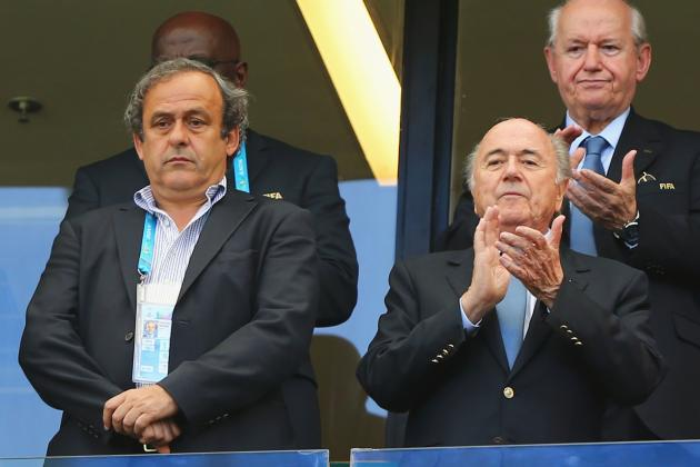 Michel Platini Reveals He Won't Stand Against Sepp Blatter for FIFA Presidency