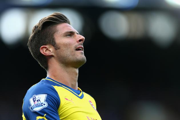 Why Olivier Giroud Injury Could Be Blessing in Disguise for Arsenal