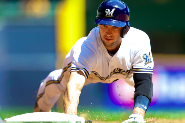 One Year After PED Suspension, Brewers' Ryan Braun Still Playing from Behind