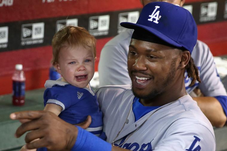 Crying Baby Really Doesn't Like Being Held by Hanley Ramirez