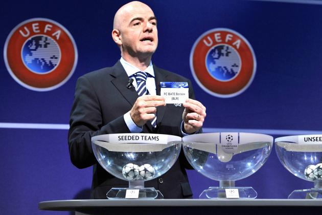 Champions League Group-Stage Draw: Live Results, Highlights and Reaction