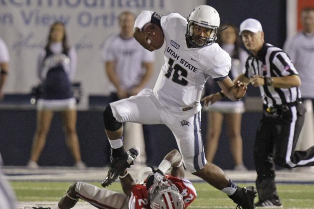 Tennessee Football: How Vols Can Stop Utah State QB Chuckie Keeton