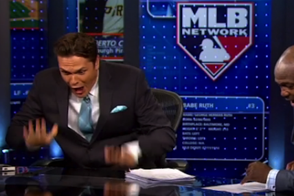MLB Network Host Loses It After Predicting Buster Posey Walk-off HR on Air