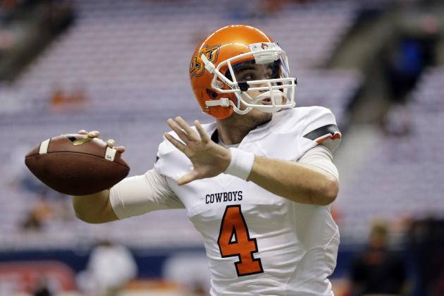 JW Walsh's Keys to Success as Starting Oklahoma State QB in Matchup with FSU