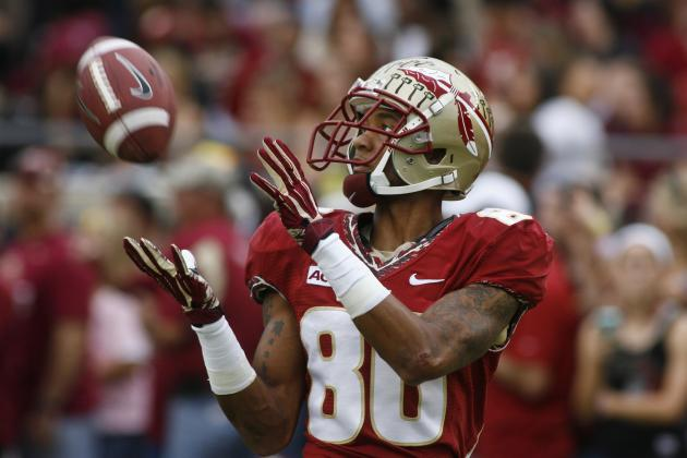Florida State Football: Rashad Greene Could Be 'Noles Best WR of All-Time