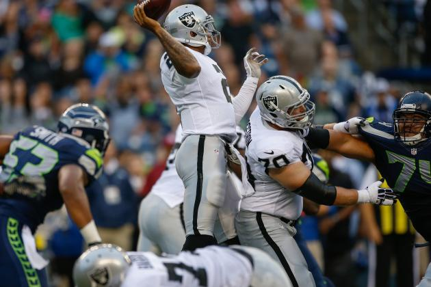 Seahawks vs. Raiders: Vital Viewing Info for Week 4 Preseason Matchup